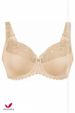 Reggiseno Rosa Faia con ferretto per Big Cup con Coppe differenziate